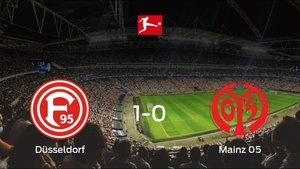 Tres puntos para el equipo local: Fortuna Düsseldorf 1-0 Mainz 05