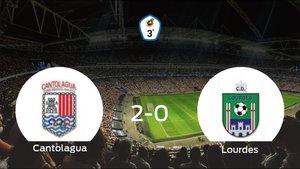 Triunfo 2-0 del Cantolagua ante el Lourdes