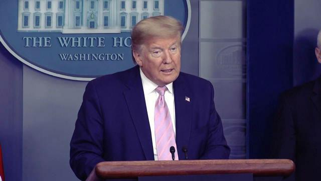 Trump, sobre la vuelta del deporte en EE.UU.: ¿Tenemos que volver y hacerlo pronto, nuestro país no está diseñado para esto¿