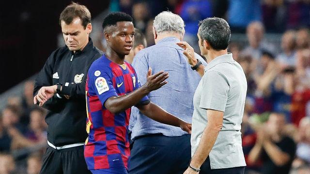 Valverde: ¿Ansu el nuevo Messi? Ya nos encargaremos de desinflar la bola