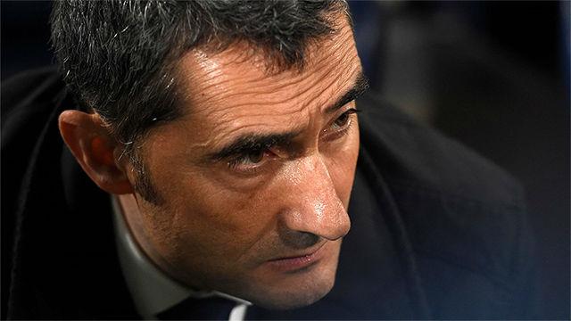 Valverde deja de ser entrenador del Barça