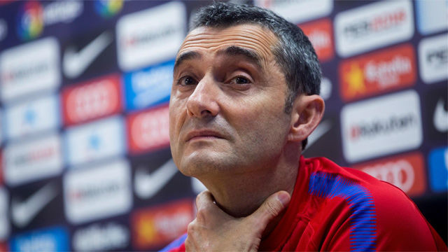 Valverde, a la espera de la evolución de Iniesta