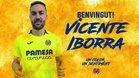 El Villarreal hace oficial el fichaje de Iborra