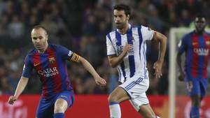 A Xabi Prieto se le ha atragantado durante toda su carrera el Camp Nou