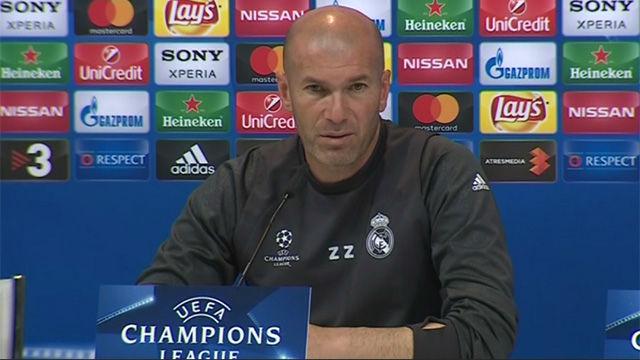 Zidane confirmó la baja de Bale
