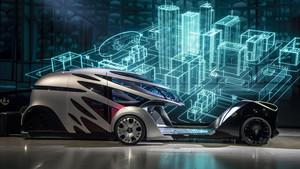 Mercedes-Benz Vision Urbanetic, dos furgonetas en una.