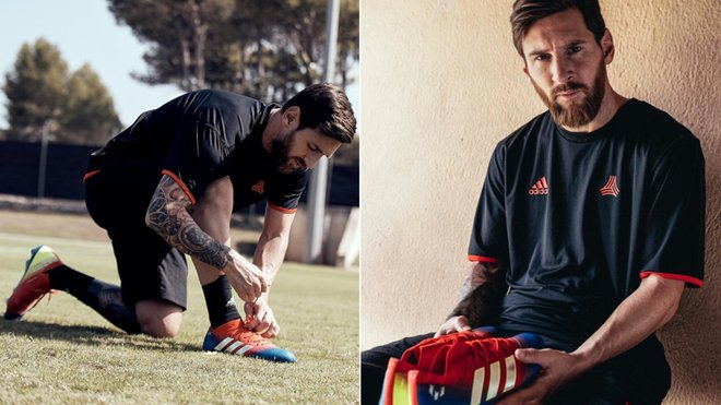 Las nuevas botas Adidas de Messi para el Atlético-Barça 4f399f6a114