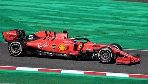 Vettel consiguió el mejor tiempo en Japón