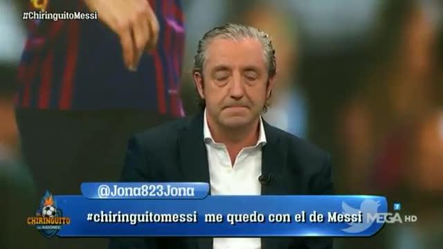 La afición del Betis se rinde ante Messi y carga contra Setién