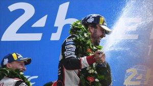 Alonso y Toyota ganaron ya el año pasado en Le Mans
