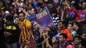 Asia disfrutará del Barça