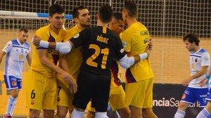 El Barça acabó sufriendo para recuperar la segunda plaza
