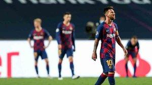 El Barça fue eliminado de la Champions