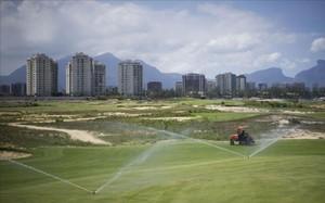 El campo de golf olímpico será la primera instalación púbilca de Brasil