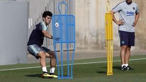 Carles Aleñá estará pronto en condiciones de volver a los terrenos de juego