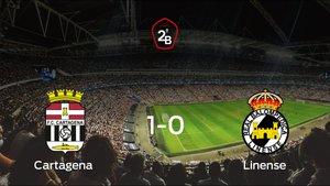 El Cartagena gana 1-0 al Linense en el Cartagonova