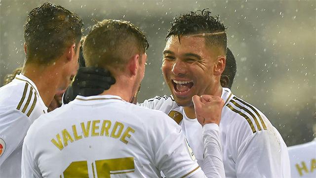 Casemiro: Sería un pecado poner a Valverde de 5