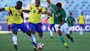 Colombia va de menos a más en el torneo