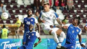 Costa Rica no pudo ganar en casa en la Concacaf Nations League