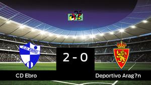 El Ebro gana por 2-0 al Deportivo Aragón