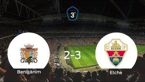 El Elche Ilicitano se impone al Benigànim y consigue los tres puntos (2-3)