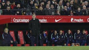 Ernesto Valverde se refirió a De Jong tras caer en Sevilla