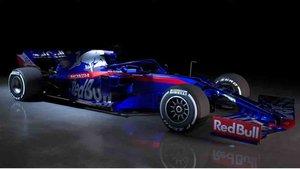 Este es el nuevo monoplaza de Toro Rosso, el STR14