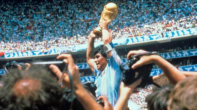La exhibición de Maradona en México 86 que te pondrá la piel de gallina