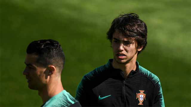 Fernando Santos: No podemos comparar a Joao Félix con Cristiano Ronaldo
