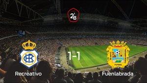 El Fuenlabrada logra ascender a Segunda División tras empatar en el encuentro de vuelta (1-1)