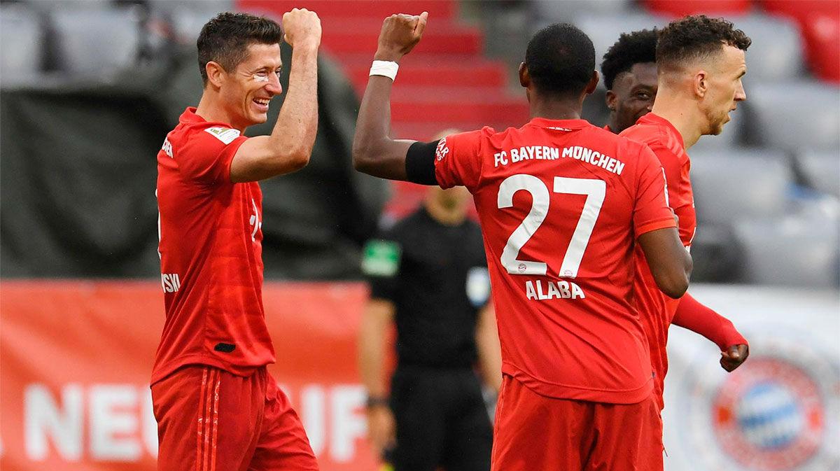 Goleada del Bayern al Eintracht de Frankfurt
