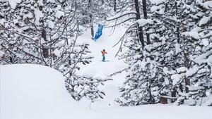 Grandvalira recibe un metro de nieve