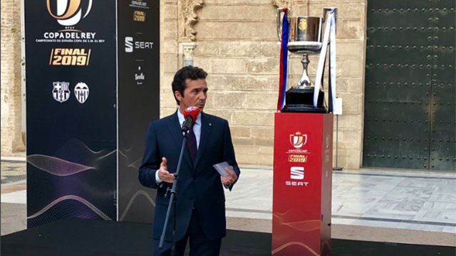 Guillermo Amor habla desde Sevilla en la previa de la final de la Copa del Rey