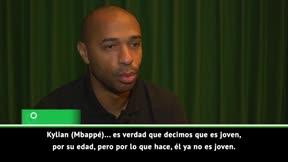 Henry: Mbappé podría ser el mayor goleador de Francia