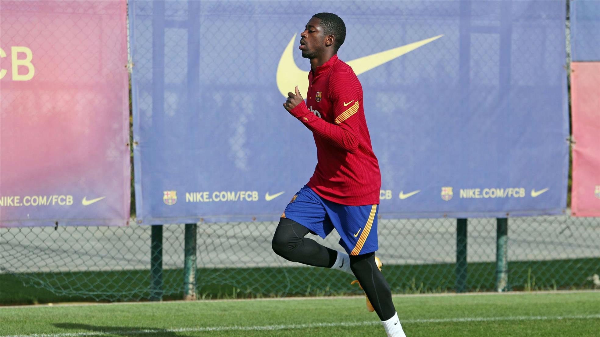 Koeman: Dembélé está trabajando bien