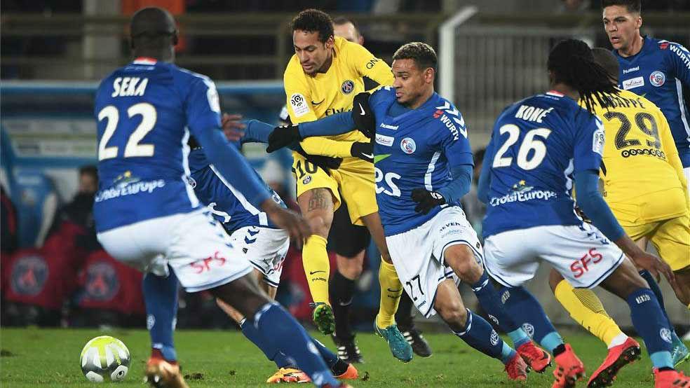 LALIGA FRANCIA | Strasburgo - PSG (2-1)