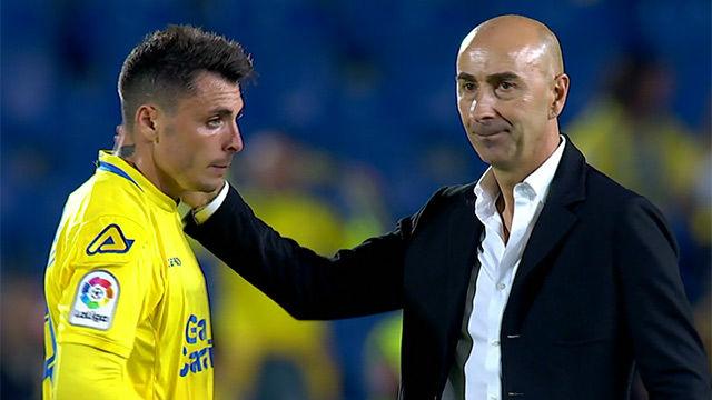 LALIGA | UD Las Palmas - Levante (0-2): Pitada final