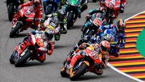 Las carreras de Moto GP vuelven sin público