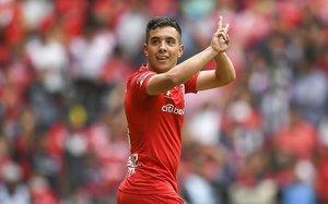 Leo Fernández, jugador más destacado del Toluca en lo que va del 2020