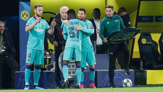 Leo Messi está de vuelta