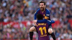 Leo Messi ha firmado su hat-trick 50 como profesional (44 con el Barça y 6 con Argentina)