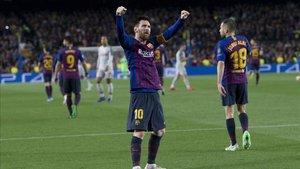Leo Messi firmó ante el Liverpool una exhibición inigualable para cualquier otro futbolista