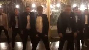 Los jugadores del Girona mostraron sus dotes como bailarines