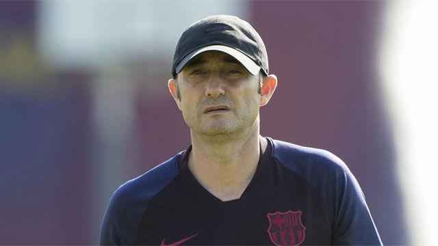 Los titulares de Valverde antes del duelo ante el Napoli