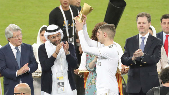 Luis Enrique eligió a Fede Valverde como MVP de la final