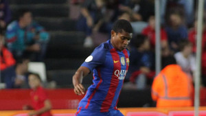 Marlon ha debutado con el Barcelona