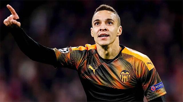 ¿Mejor la asistencia o el gol? Brillantes Ferran y Rodrigo para clasificar al Valencia