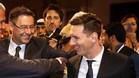 Messi y Bartomeu firmaron finalmente el nuevo contrato