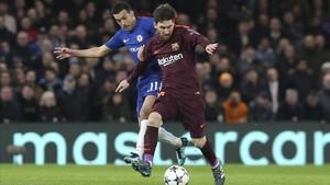 Messi fue el mejor futbolista del Barça en el primer tiempo