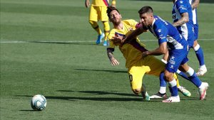 Messi, en Mendizorroza